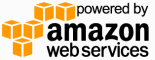Powered by Amazon AWS