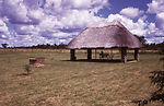 This Gwaai, Zimbabwean Campground, where two trave