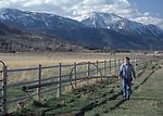 ranchers depend on the snowpack to irrigate their