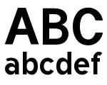 Tuffy Bold Font