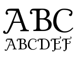 Gold Plated Regular Font