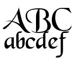 Black Chancery Regular Font