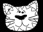 Illustration of a cartoon cat