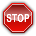 Illustration of a stop sign