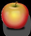Illustration of an apple