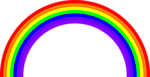 Illustration of a rainbow