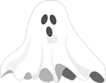 Illustration of a ghost