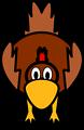 Illustration of a cartoon chicken