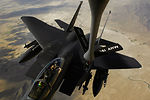 Airpower Summary for March 27: F-15Es protects friendly ground forces