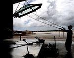Egress technicians keep Raptors covered