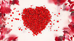 Heart from the petals