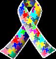 Autism (puzzle) ribbon