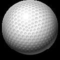 golf-ball, golfo kamuoliukas
