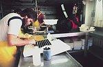 Scientist working with tissue sampling vials