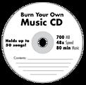Blank Music CD
