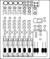8-Channel audio mixer