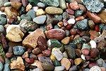 Random rocks picked up on the beach at Gig Harbor.