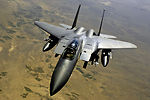 Sept. 14 airpower summary: F-15Es provide aerial surveillance