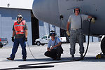 Airmen launch fifth day of California fire support