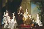 'The Radcliffe Family', painting by Thomas Hudson, ca. 1742, Denver Art Museum.JPG