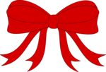 Red Bowed Ribbon