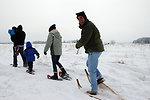 Snowshoeing at Sherburne