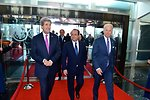 Secretary Kerry and Vice President Biden Welcome French President Hollande to the State Department