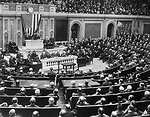 President Harding Addresses Joint Session of Congress - 1921
