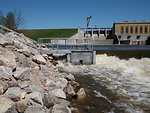 Big Manistee River Sea Lamprey Trap, Michigan.