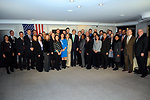Secretary Kerry Poses for Group Photo With State Department Team in Germany