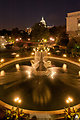 Bartholdi Fountain at Night