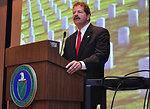 Kevin Hall, DOE-ORO Deputy Manager at Veteran's Day Event Oak Ridge 2013