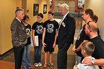 Major General(RET) James Bassham, Dir. TEMA and Richard Serino Deputy Administrator, FEMA Visits with Lego Champs Brick Ninjas  in Oak Ridge 2013