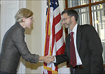 Elizabeth Warren being sworn in, 09/17/10