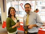 sharing a cup of joe