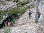 Entrance to Limekiln Cave