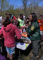 Environmental Interpreter, Krista Jensen, from the MN DNR taught Fish Identification