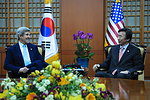 Secretary Kerry Meets With South Korean Foreign Minister Yun