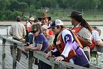 Winona District Staff and volunteers assist with fishing event
