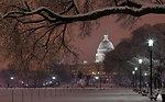 Snowfall in Washington, D.C. - 2010