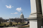 Capitol viewed from inside Jefferson Building