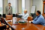 Don Thress Chief Counsel for DOE ORO ,Richard Serino Deputy Administrator, FEMA and Leon Duquella DOE ORO Oak Ridge Emergency Management Forum Chair in Oak Ridge 2013