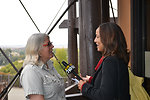 Anne Morkill & Anna Duckworth, KCBS radio, TMRP-11-14-13