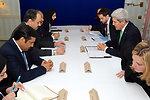 Secretary Kerry Meets With Qatari Foreign Minister al-Attiyah