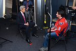 Secretary Kerry is Interviewed by DC 101 Segal Before Capitals Game
