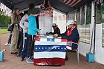 U.S. Sports Envoys Briana Scurry and Amanda Cromwell Sign Autographs