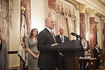 Ambassador Heyman Delivers Remarks at His Swearing-in Ceremony