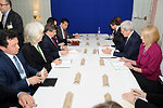 Secretary Kerry Meets With Turkish Foreign Minister Davutoglu at Munich Security Conference