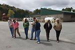 A Regional Directorate walking tour of the hatchery