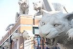 Statues at Detroit Tigers Stadium (2)